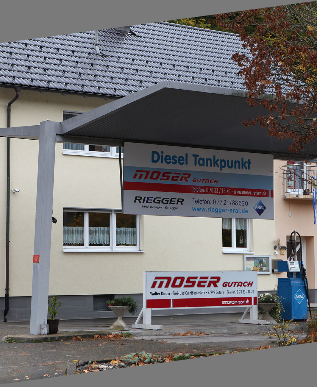 Tanken Gutach Tankstelle Moser Reisen